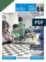 El ajedrez se pone de moda.