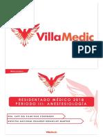 RM 18 P3 - Anestesiología