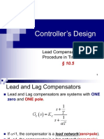 Lead Compensator-Time Domain