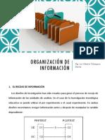 4 - Organización de Información