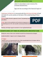 Landscape architectue semester 4 module 1