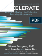 Accelerate - Forsgren PhD