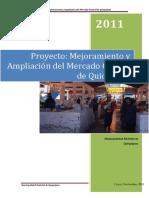 Proyecto Mejoras Del Mercado Visordocs