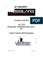 AC215 Manual Software Veritrax Rosslare Español.pdf