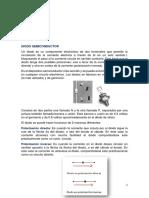 _características y Aplicaciones de Los Diodos Semiconductores