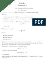 Financial Mathematics Assignment 2