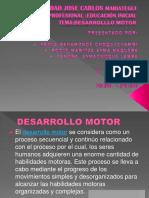 Desarrollo Motor Diapositiva 1