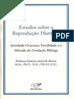 ESTUDO REPRODUÇÃO HUMANA MÉTODO BILLINGS OVULAÇÃO Professor Emérito James B. Brown.pdf