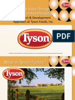 Adding Value Through Innovation and Marketing - Hal Carper, Tyson Foods