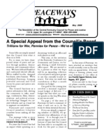 May 2008 Peaceways Newsletter, Central Kentucky Council for Peace and Justice