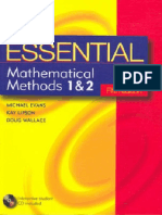 Evans M_Essential Mathematical Methods 1 y 2