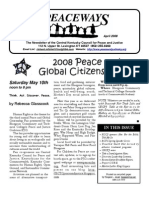 April 2008 Peaceways Newsletter, Central Kentucky Council for Peace and Justice
