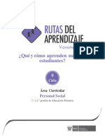 RUTAS Primaria PersonalSocial-III