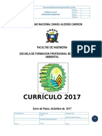Plan Curricular Ingenieria Ambiental