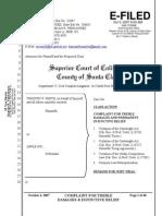 Complaint - Smith v  Apple Inc - Iphone Law Suit