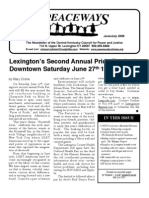 June-July 2009 Peaceways Newsletter, Central Kentucky Council for Peace and Justice