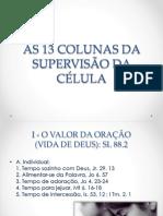 As 13 Colunas Da Supervisão Da Célula