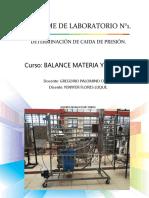 Informe de Laboratorio Balance 2