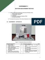 Temperature Measurement Method