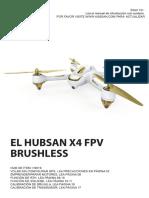 Manual Hubsan h501s Español