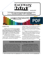 June-July 2010 Peaceways Newsletter, Central Kentucky Council for Peace and Justice