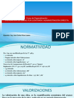 Liquidacion de Obras Por Contrata y Administracion Directa