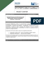 Acta de Constitucion de Proyecto