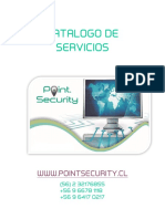 Catalogo de Servicio Pointsecurity-1
