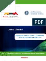Delimitación y Codificación de Unidades Hidrográficas Según Pfafstetter
