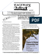 April 2010 Peaceways Newsletter, Central Kentucky Council for Peace and Justice