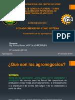 Agronegocios II Fundamentos