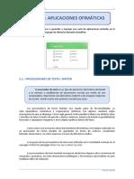 Tema_3 Aplicaciones Ofimaticas