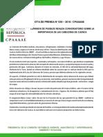 COMISION DE PUEBLOS REALIZA CONVERSATORIO SOBRE LA IMPORTANCIA DE LAS CABECERAS DE CUENCA