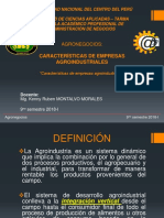 Agronegocios III-caracteristicas de Las Empresas Agroind.