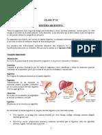Clase n° 13 Sistema digestivo
