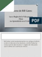 Discurso de Bill Gates