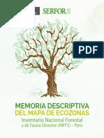 Memoria Descriptiva Del Mapa de Ecozonas Del Inffs