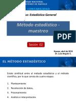Sesión 02 - Método estadistico-Muestreo - Enfermería.pdf