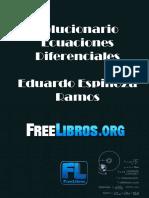 Solucionario Ecuaciones Diferenciales - Eduardo Espinoza Ramos-FREELIBROS.org