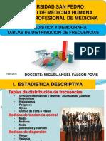 BIOESTADISTICA  Y DEMOGRAFIA CLASE 4  ENERO  16 01 2015 Presentación1