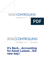 CON2016 Webinar Its Back Accounting for Asset Leases the New Way