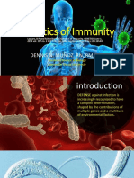 Genetics of Immunity by Dennis Munoz