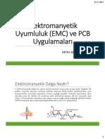 Elektromanyetik Uyumluluk-PCB Uygulamaları