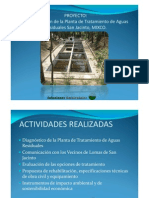Proyecto de Rehabilitación de la Planta de Tratamiento de Aguas Residuales