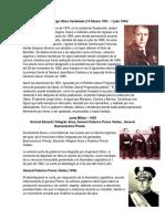 Presidentes Desde Jorge Ubico Castañeda Asta La Actualidad