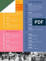 Programa Festival del Centro Histórico de Morelia