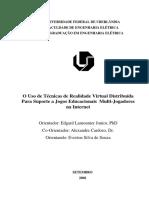 Uso de Tecnicas de Realidade Virtual - Everton
