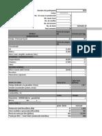 Costos de Producción Potosi