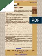 VESICULA PIEDRASMedicina Natural. Cálculos. Revista 12. La Sabiduría Del Ser