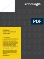 The Role of Telecommunications in Smart Cities